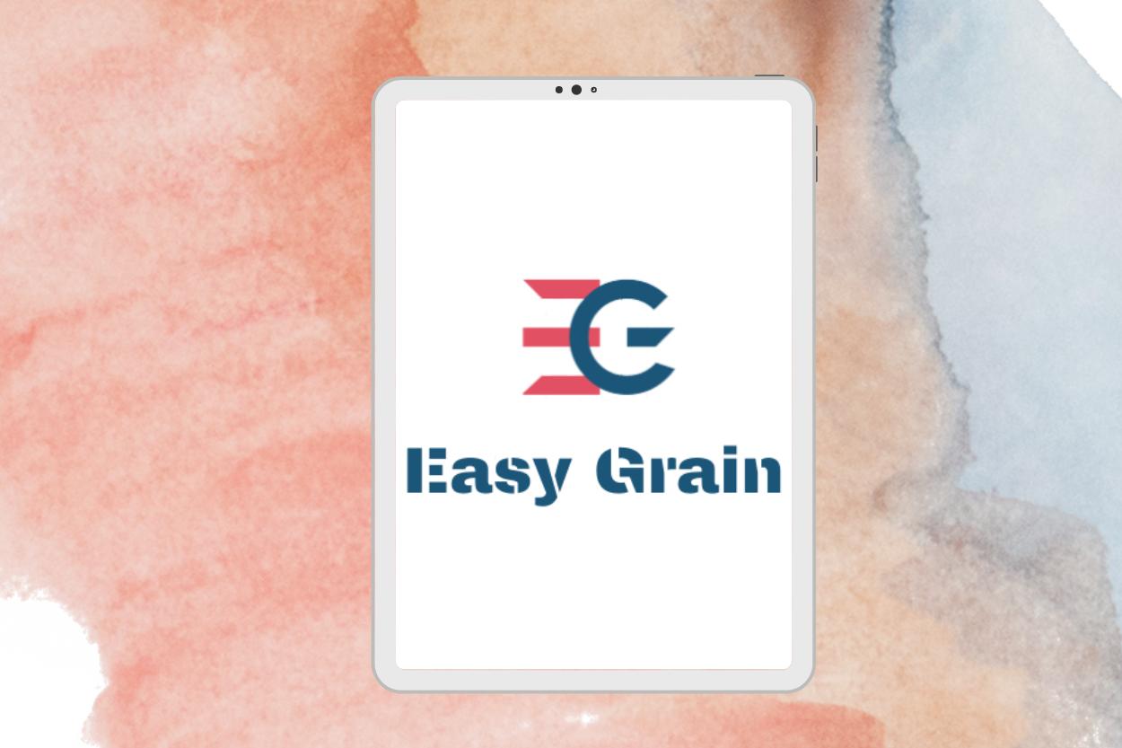 star pearl tech-logo-design-easy-grain